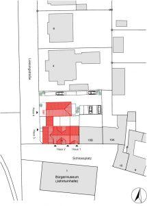 Schlossplatz 11 Lageplan
