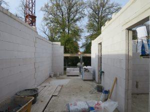 Mauerwerksarbeiten Neubau OG 1