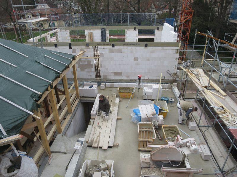 Mauerwerksarbeiten im Altbau (Fachwerkhaus)