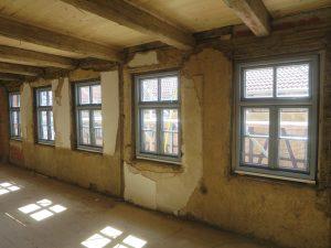 Einbau historische Fenster