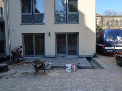 Terrassenplatten Haus 4 EG